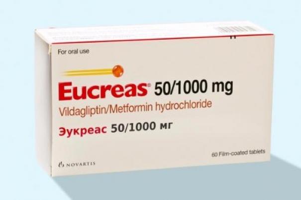 diabetes de galvus eucreas
